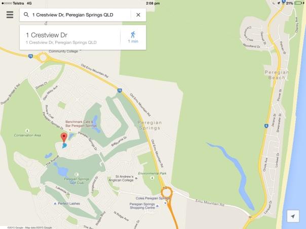 Jan Bond Peregian Springs Map